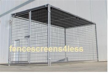 Sunblock Tops Fence Screen Dog Kennel Shade Covers