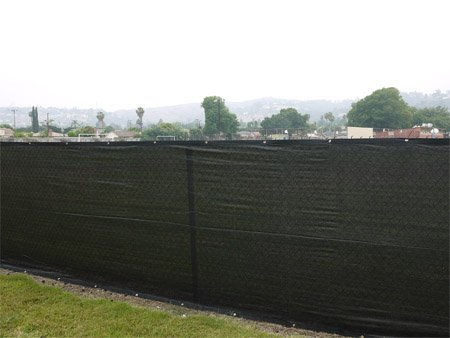 Fence Windscreen Knitted Privacy Screen 85 Blockage